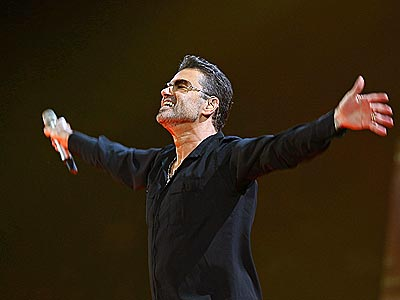 george michael concert picture